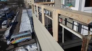 видео Наружная отделка балкона
