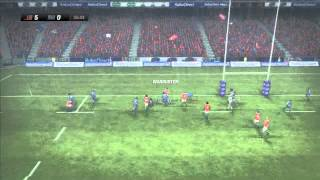 Rugby Challenge 2: Online Gameplay, Online Match (Full Game)