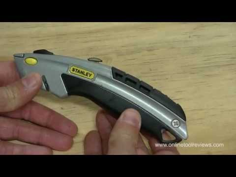 Stanley 10-788 Utility Knife Review - OnlineToolReviews.com