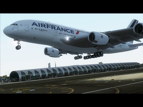 FSX A380 Dubai to Paris (T2G scenery) [AMAZING REALISM+EXTREME GRAPHICS]