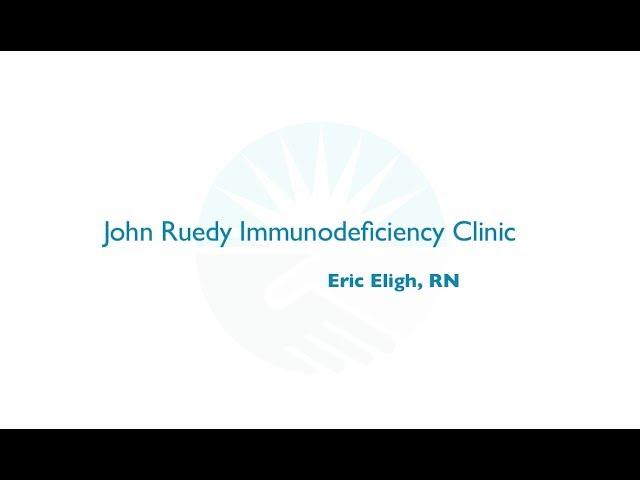 The John Ruedy Immunodeficiency Clinic Rapid Fire Presentation