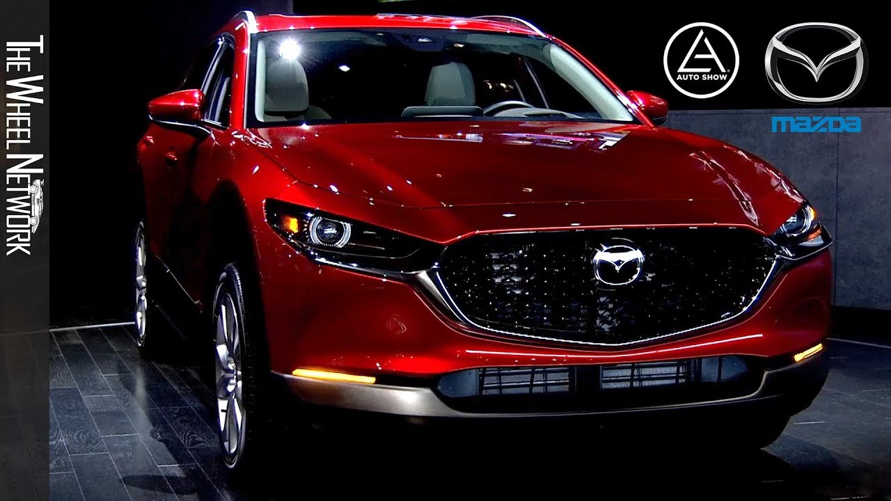 2020 Los Angeles Auto Show.2020 Mazda Cx 30 Reveal At The Los Angeles Auto Show