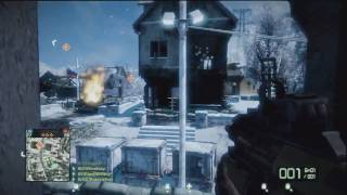 BFBC 2 : STG 77 with Red Dot Gameplay part 2/2 HD