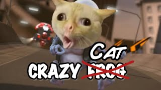 Cats ft. Crazy Frog (Axel F) *THANK YOU TO ALL THE PEOPLE WHO SUBSCRIBED 😊*
