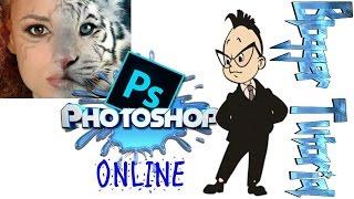 Фотошоп онлайн - PhotoShop Editor OnLINE