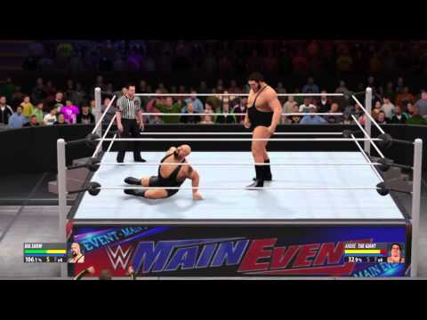 Wwe2k16 big show vs andre the giant