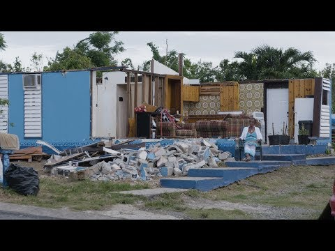 Months after Maria and Irma, residents of the US Virgin Islands struggle to rebuild