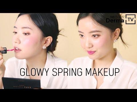 [Live/Giveaway] Glowy Spring Makeup🌸 l Chatty GRWM
