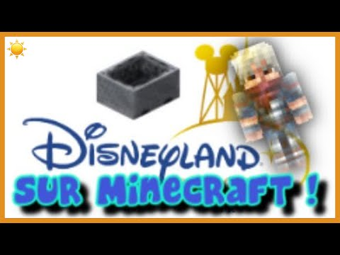 minecraft disneyland paris map download