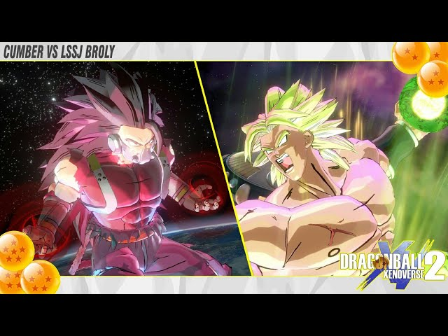 Which Evil Saiyan is stronger !? Cumber vs Broly - Dragon Ball Xenoverse 2