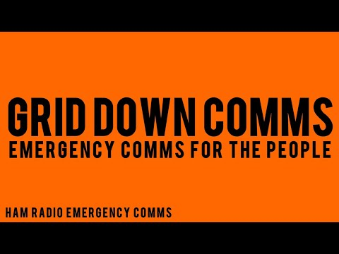 Grid Down Emergency Communications For Preparedness