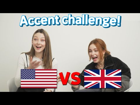 British and American Compare Accents For The First Time!