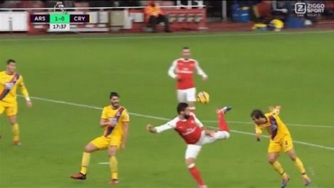 Download Olivier Giroud Scorpion Kick Goal vs Crystal Palace (Giroud Goal vs Palace)