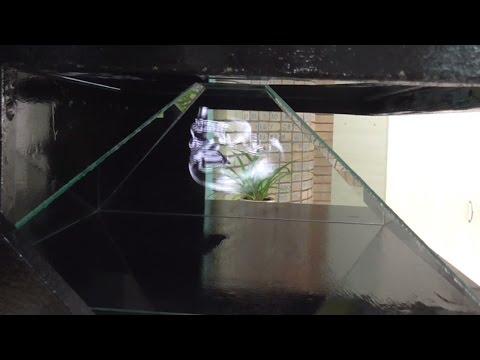 Как сделать Большую 3D Голограмму за 1 день