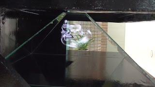 Как сделать Голографический 3D Проектор  для LCD Телевизора 42 дюйма(В этом видео вы узнаете, как сделать голографический проектор 3D пирамида для LCD телевизора с диагональю..., 2016-03-15T20:20:52.000Z)