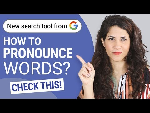 How I helped GOOGLE help YOU pronounce words correctly   🔥Free Tool 🔥
