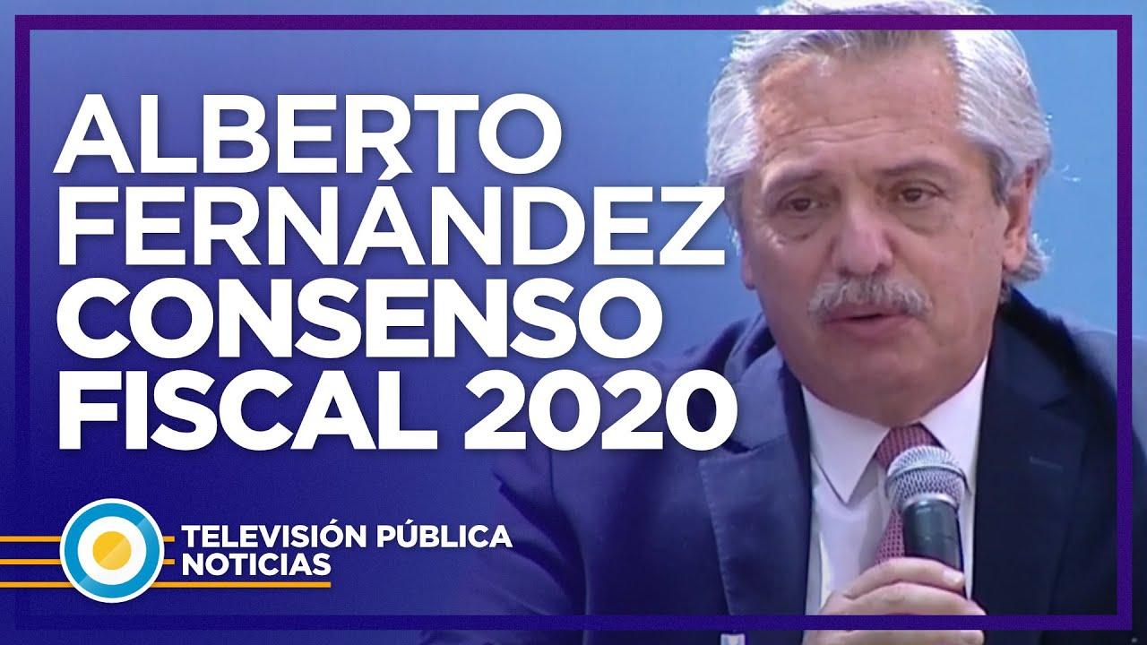 """Alberto Fernández: """"Hay un país que nos reclama que trabajemos unidos"""""""