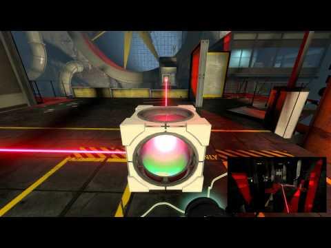 Portal 2 Cooperativo. Capitulo 4 - Masa y Velocidad 6-8