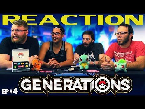 """Pokemon Generations Episode 4 REACTION!! """"Lake of Rage"""""""
