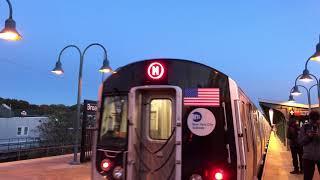 NYC Subway | R160 (M) Train @ Broadway Junction