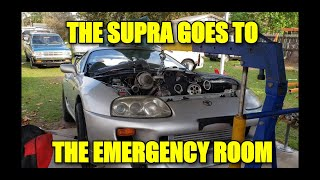 THE SUPRA VISITS THE EMERGENCY ROOM/ CATASTROPHIC FAILURE