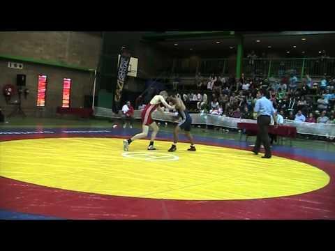 2013 Commonwealth Championships: 55 kg GR Stephen Andrews (WAL) vs. Gaurav Sharma (IND)