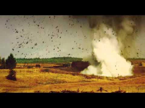 1t of anfo 1000kg simulation of v2 rocket explosion youtube
