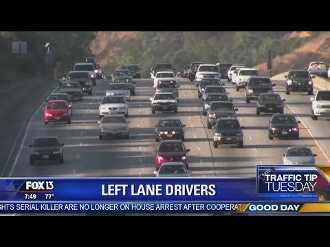 Crash - Florida Highway Patrol Will Ticket You For Driving In Left Lane