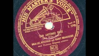 Ingerlill Rossvald och Harry Brandelius - San Antonio Rose