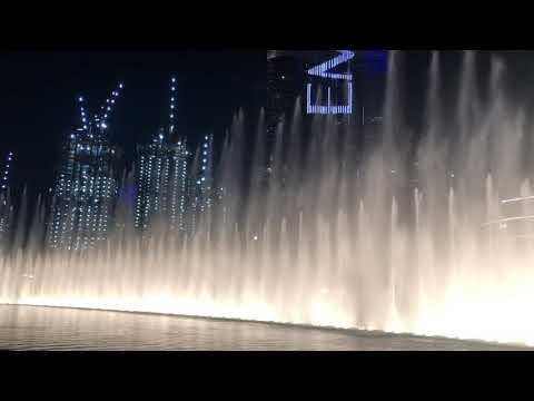 The Dubai Fountain Show | In Front of the Burj Khalifa and Dubai Mall
