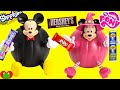 Mickey Mouse And Minnie Mouse Halloween Pumpkin Surprises And Candy video