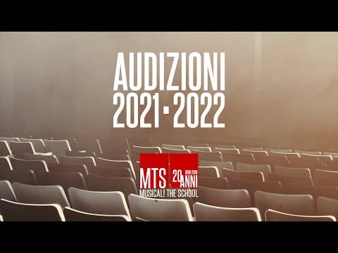 MTS - MUSICAL! THE SCHOOL audizioni anno accademico 2021/2022