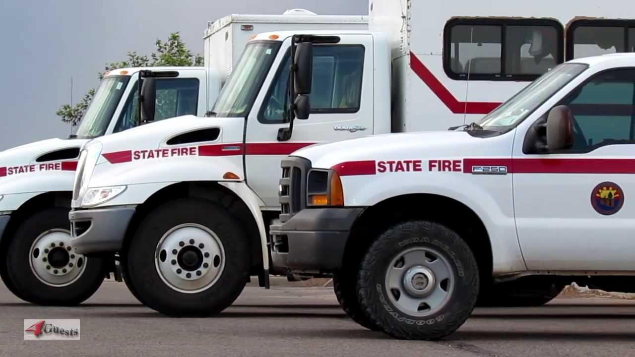 Arizona Hotshots Wildland Fire Crew Vehicles State Fire