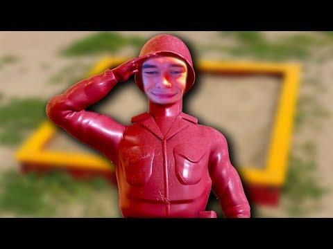 Ветеран песочницы // Plastic soldiers