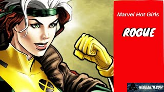 Marvel Hot Girls - Rogue