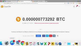 CryptoTab, miner du Bitcoin avec Google Chrome. SCAM ou Pas?