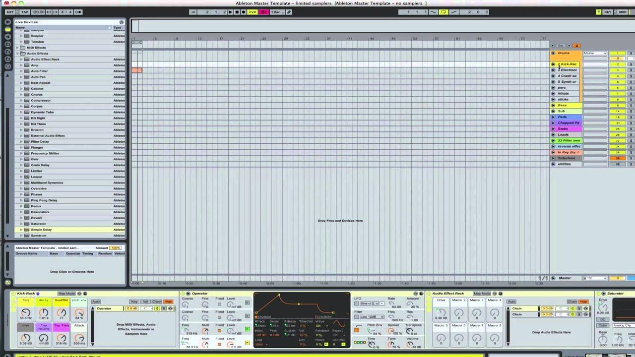 Ableton live tutorial stem mastering: ask. Audio.