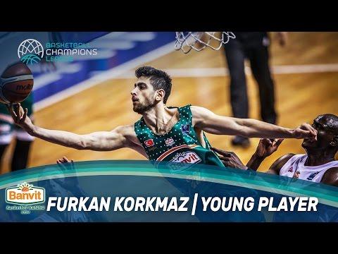 Furkan Korkmaz   Best Young Player - End of Season Awards - Basketball Champions League