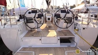 2015 Hanse 505 Sailing Yacht - Deck and Interior Walkaround - 2015 Annapolis Sail Boat Show