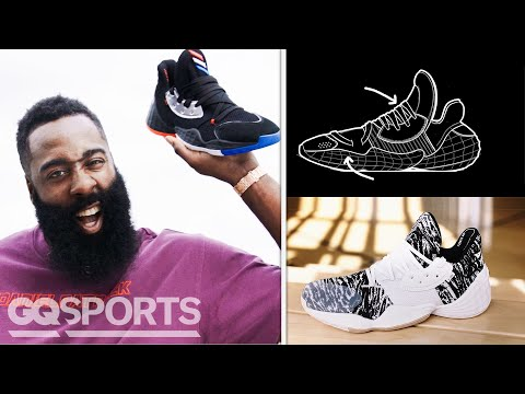 james-harden-breaks-down-the-adidas-harden-vol-4-sneaker-|-signature-sneakers-|-gq-sports