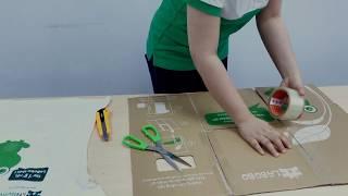 Sáng tạo máy gấp quần áo thần kì cùng LaBobo - Create magic clothes folding board with LaBobo