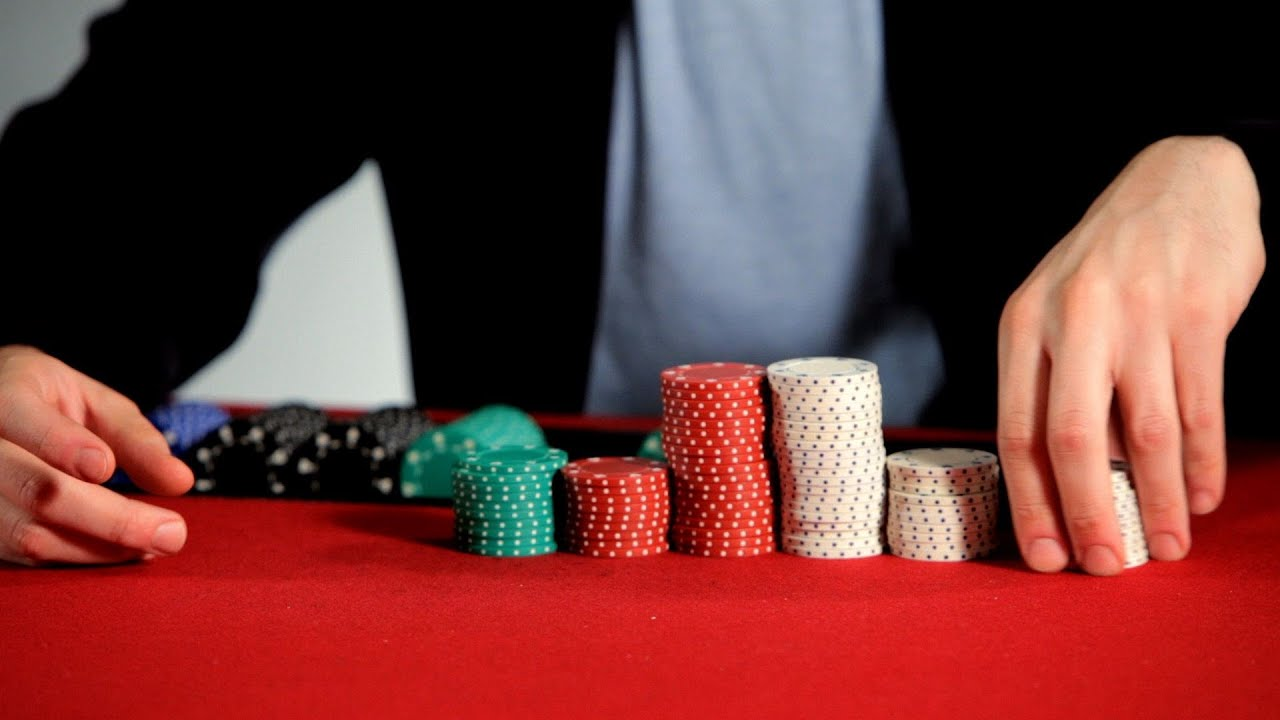 How to Stack Poker Chips | Poker Tutorials - YouTube