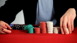 How to Stack Poker Chips | Poker Tutorials
