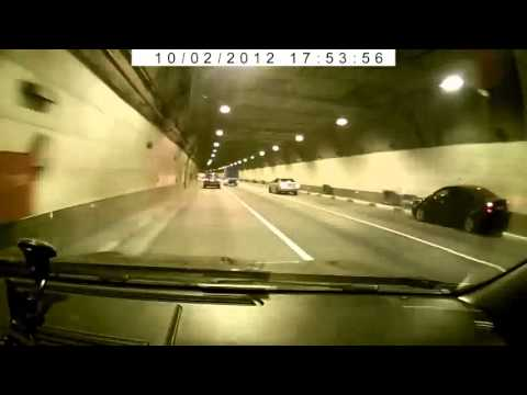 NEW SCARY car accident in tunnel on highway in Russia!Bmw 530 crash!ДТП car crashes