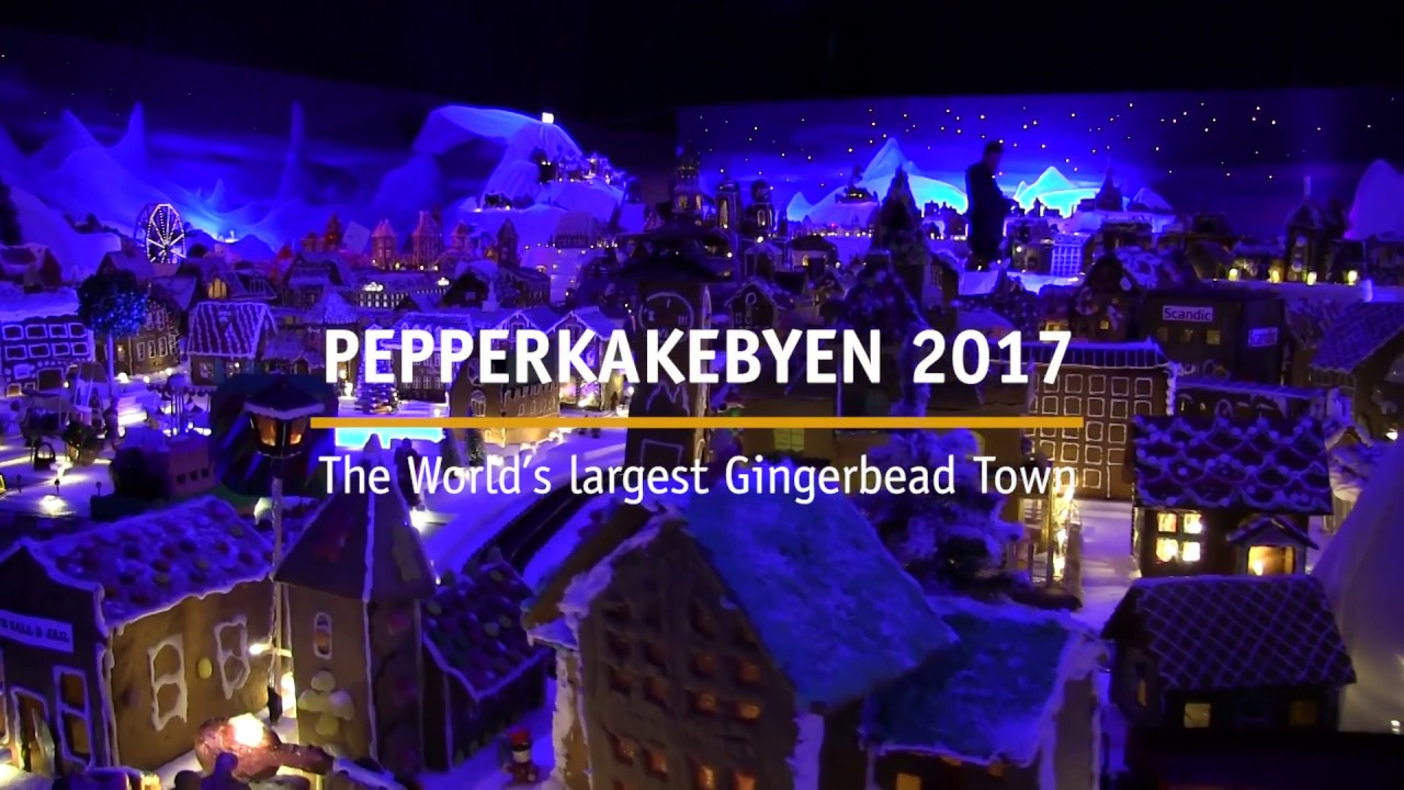 Thumbnail: Pepperkakebyen i Bergen 2017