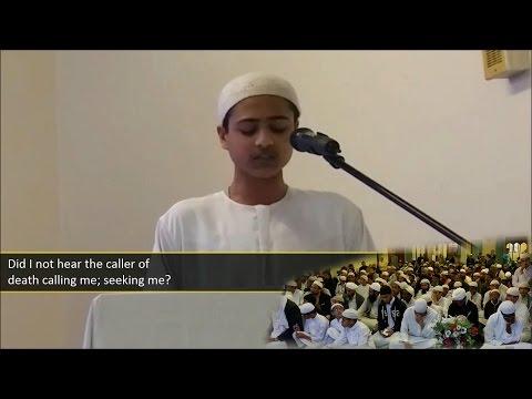 Poem that made Imam Ahmad cry || إذا ما قال لي ربي أما استحييت تعصيني ᴴᴰ