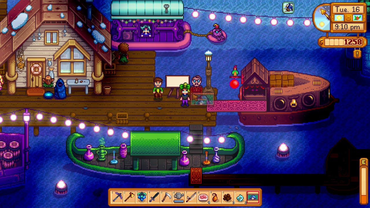 Image result for stardew valley night market