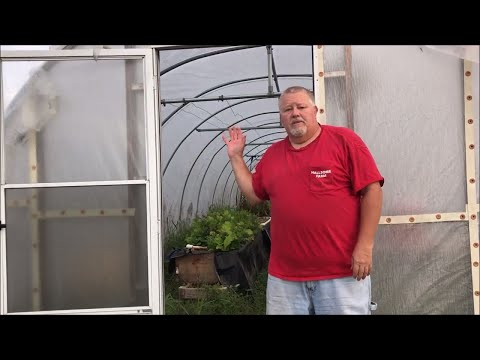 How to DIY Greenhouse Build