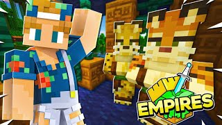 We have Jungle Villagers!   Minecraft Empires SMP - Ep.05