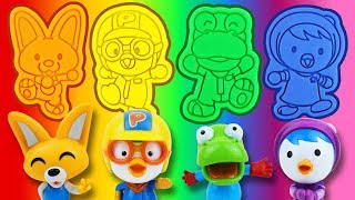 Gambar cover Pororo Play-Doh, Learn Colors, Surprise Toys | TOYMON